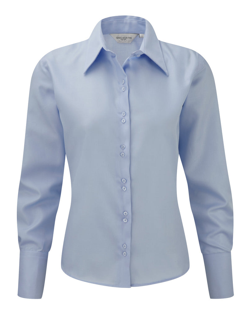 R956F - Ladies' Long Sleeve Ultimate Non-Iron Shirt