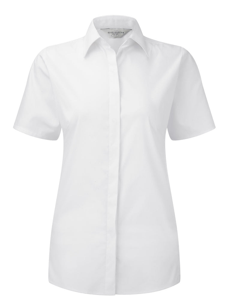 R961F - Ladies' Short Sleeve Ultimate Stretch