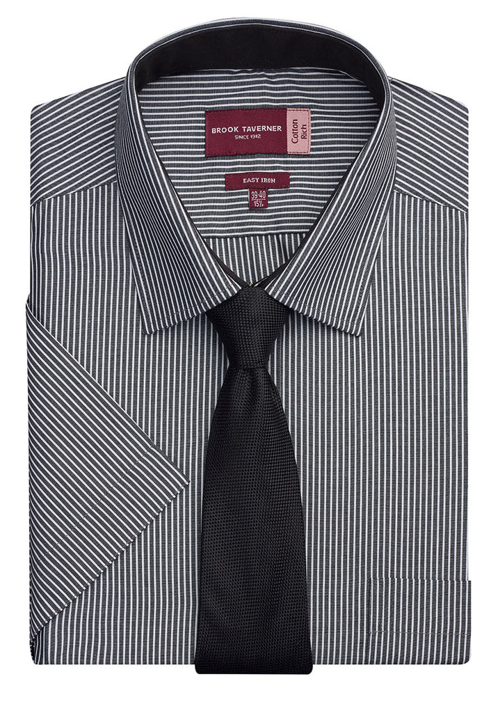 BT7595 - Savona Classic Fit S/S Mens Shirt Cotton Rich Easy to Iron