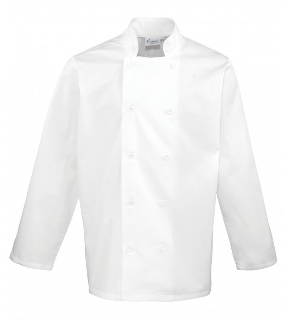 PR657 Essential Long Sleeve Chef's Jacket