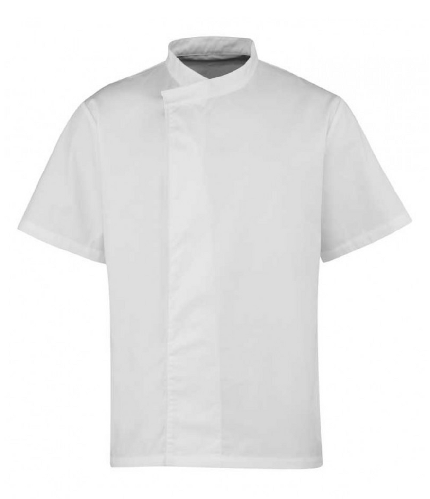 PR668 - Culinary Pull On - Chef's Short Sleeve Tunic