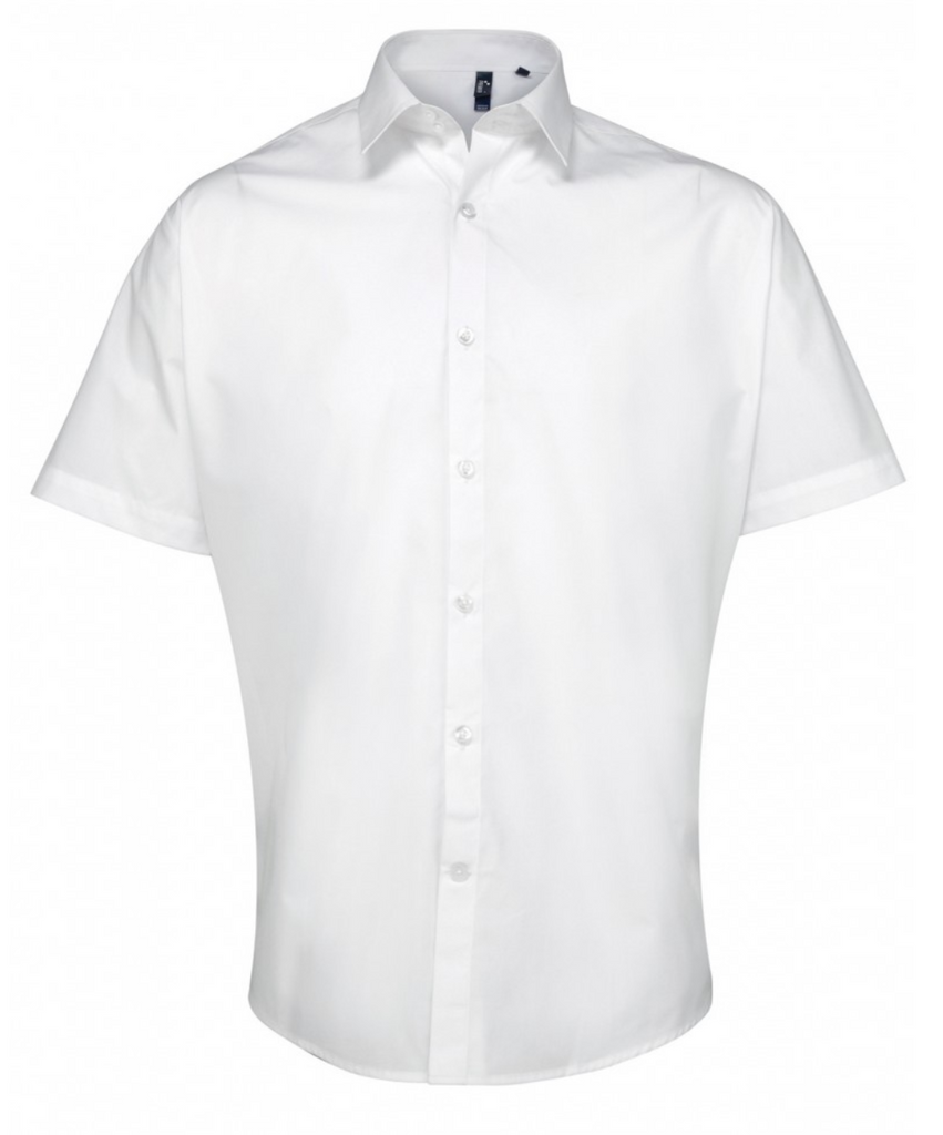 PR209 - Supreme Poplin Men's Short Sleeve Shirt