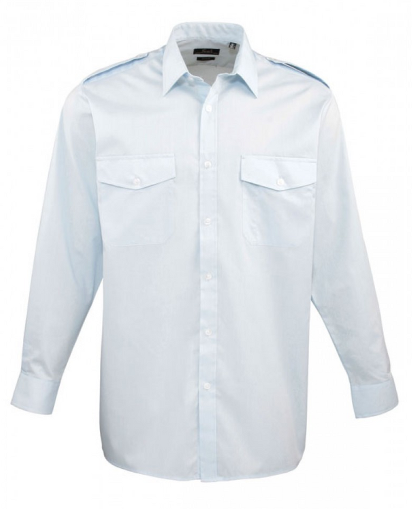 PR210 - Pilot Shirt Long Sleeve