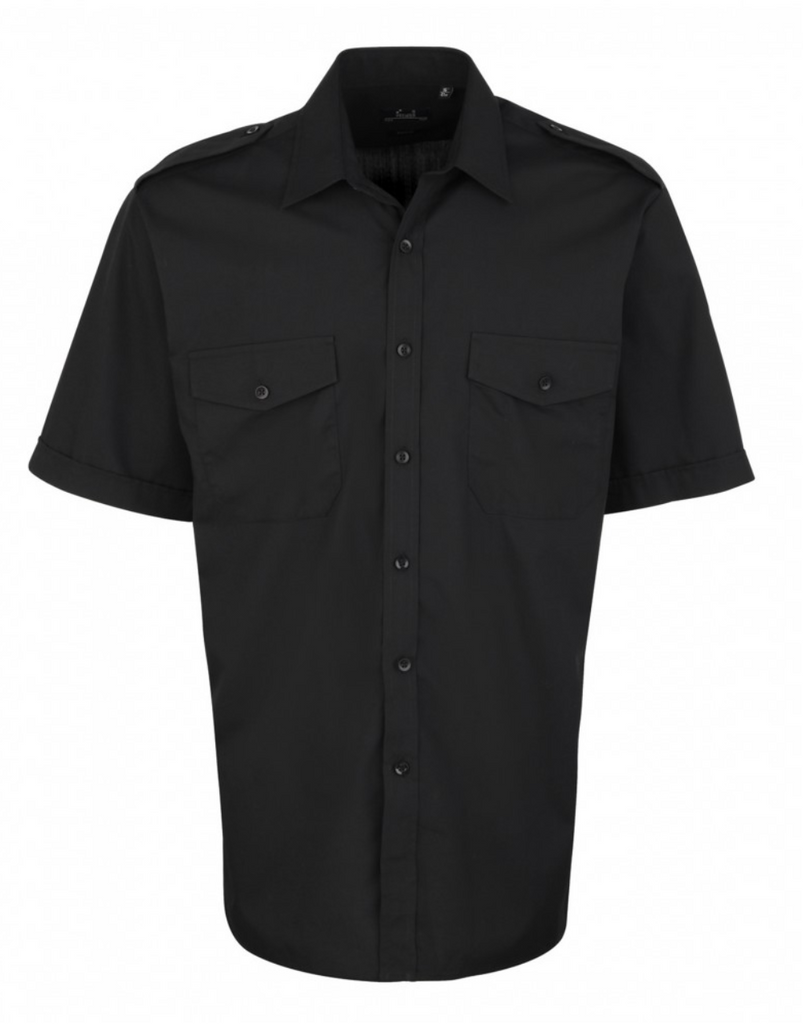PR212 - Pilot Shirt Short Sleeve