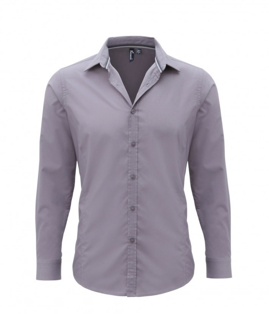 PR214 - Mens Long Sleeved Fitted Friday Shirt