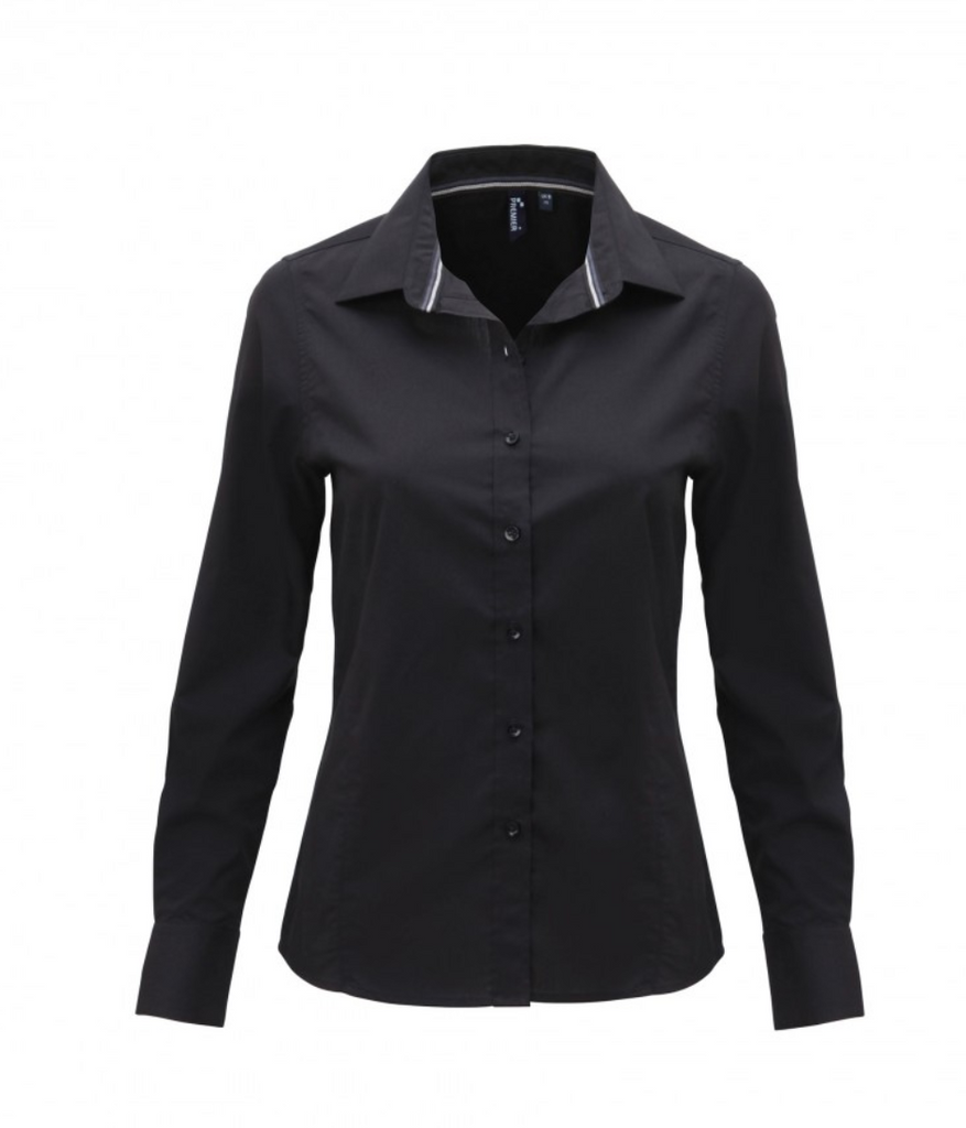 PR314 - Ladies Long Sleeved Fitted Friday Shirt