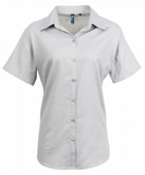 PR336 - Signature Oxford Womens Short Sleeve Shirt