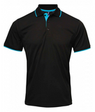 PR619 - Ladies Contrast Coolchecker Polo