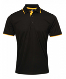PR618 - Mens Contrast Coolchecker Polo