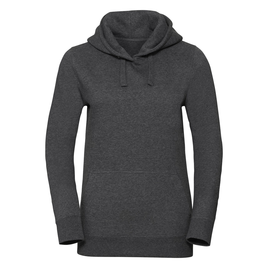 R261F - Ladies Authentic Melange Hooded Sweat