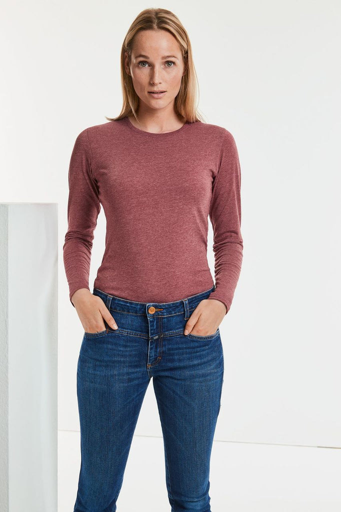 R167F - Ladies Long Sleeve HD T