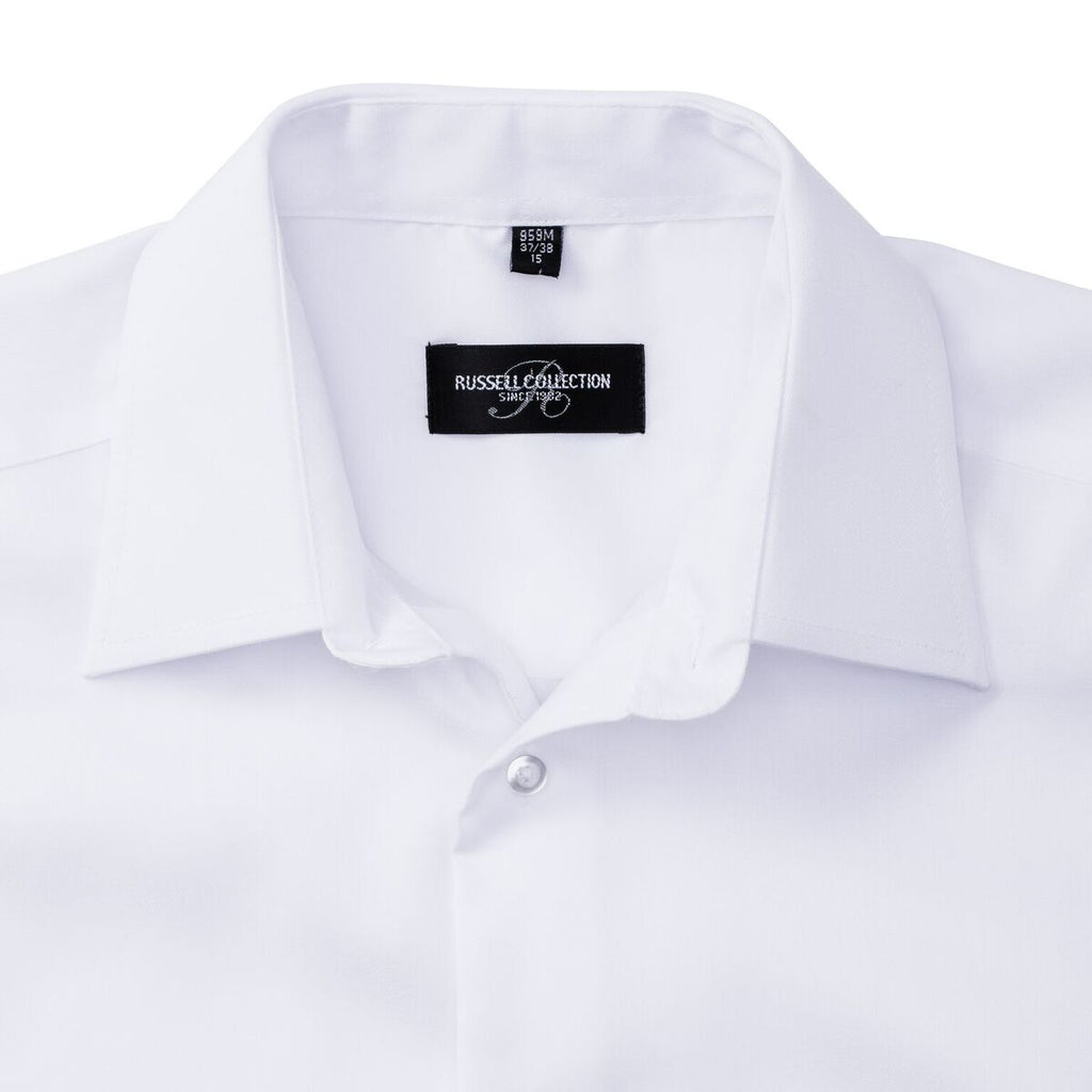 R959M - Men's Short Sleeve Tailored Ultimate Non-Iron Shirt