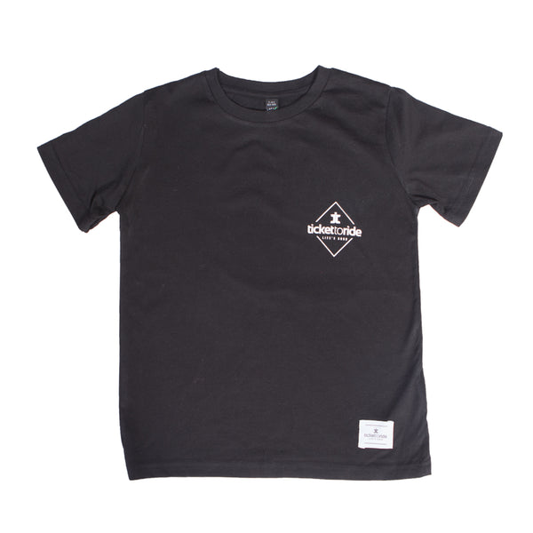 TTR Kids T-Shirt - Black