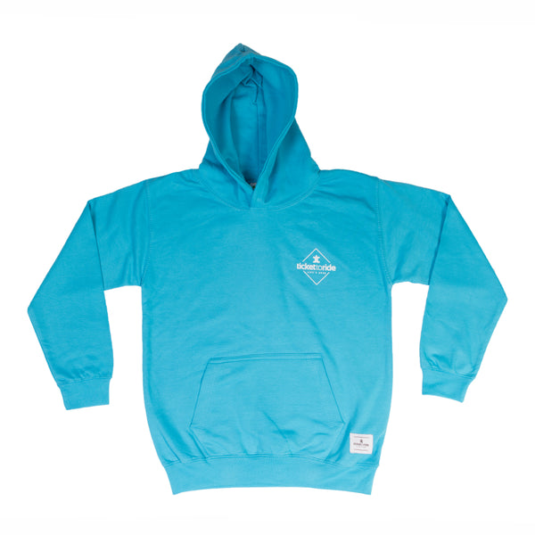 TTR Kids Hoodie - Light Blue