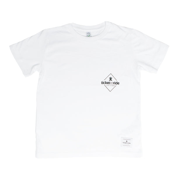TTR Kids T-Shirt - White