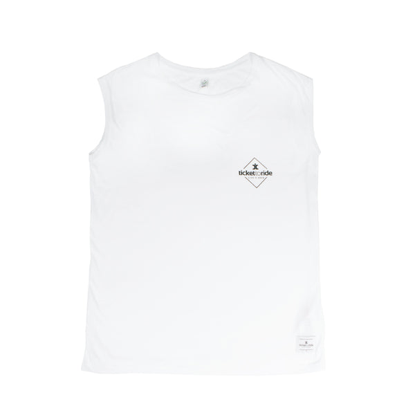 Women's Tank Top - White