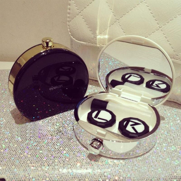 Luxury Perfume Bottle Contact Lens Case