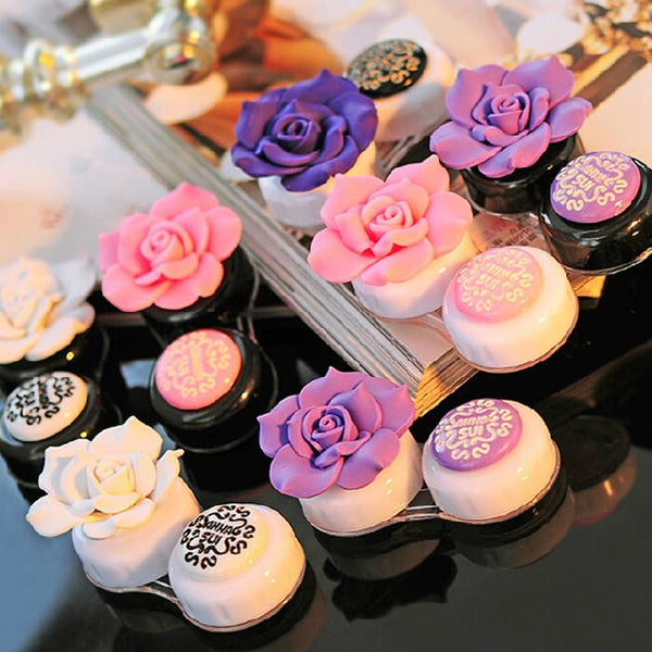 Anna Sui inspired Rose Contact Lens Case