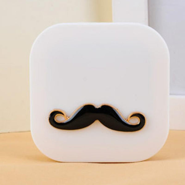Moustache Cute Contact Lens Case
