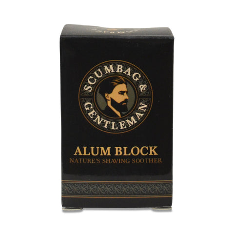 Alum Block - Nature's Shaving Soother - 80grams