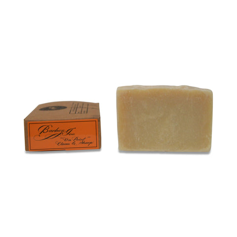 Barber Joe Organic Soap Bar - Cedarwood, Peppermint, & Eucalyptus- 120grams