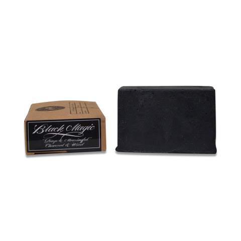 Black Magic Charcoal Beard & Body Soap - 120grams