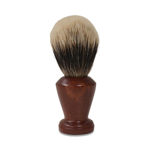 Handmade Badger Hair Shaving Brush - 22mm Silvertip Std: Australian Cooktown Ironwood