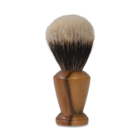 Handmade Badger Hair Shaving Brush - 22mm Silvertip Std: Tasmanian Blackheart Sassafras