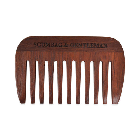 Wooden Beard Comb - Hand Made using Australian Jarrah