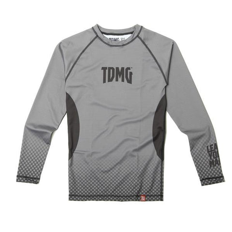 TDMG ESSENTIAL RASHGUARD LONG SLEEVES GREY