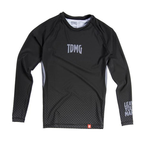 TDMG ESSENTIAL RASHGUARD LONG SLEEVES BLACK