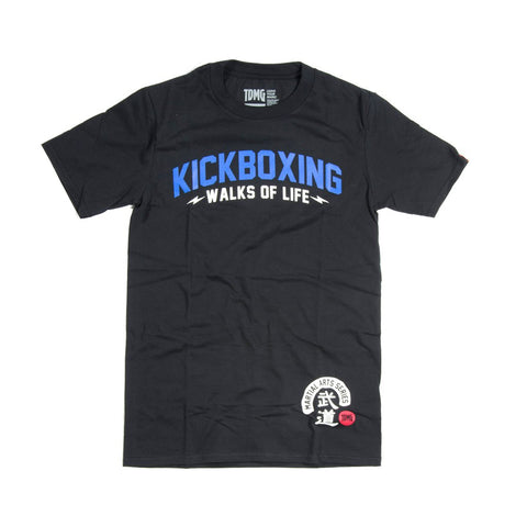 TDMG MARTIAL ARTS SERIES KICKBOXING TEE