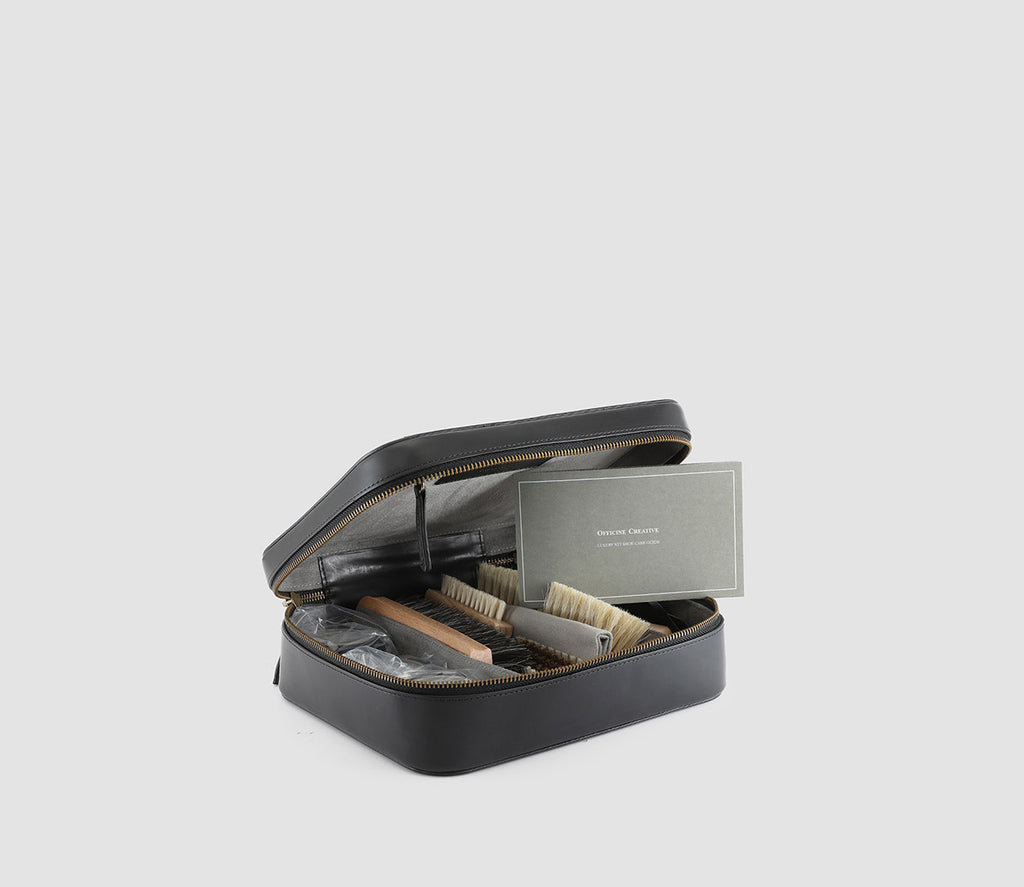 Luxury Kit Shoecare Nero