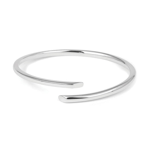 Sterling Silver Tension Bangle | TBL257