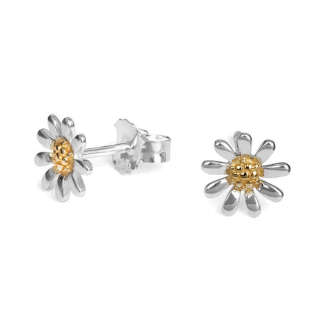 Marguerite Daisy Studs Large (8mm)