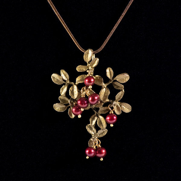 Cranberry Pendant & Chain | MM/8054BZCR