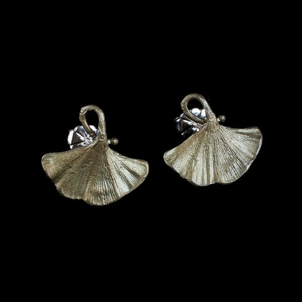 Gingko Clip Earrings | MM/4917BZ