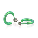 Colourful Titanium - Open Hoop Studs