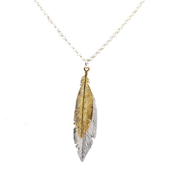 Feather Necklace | LBJ/YHM490