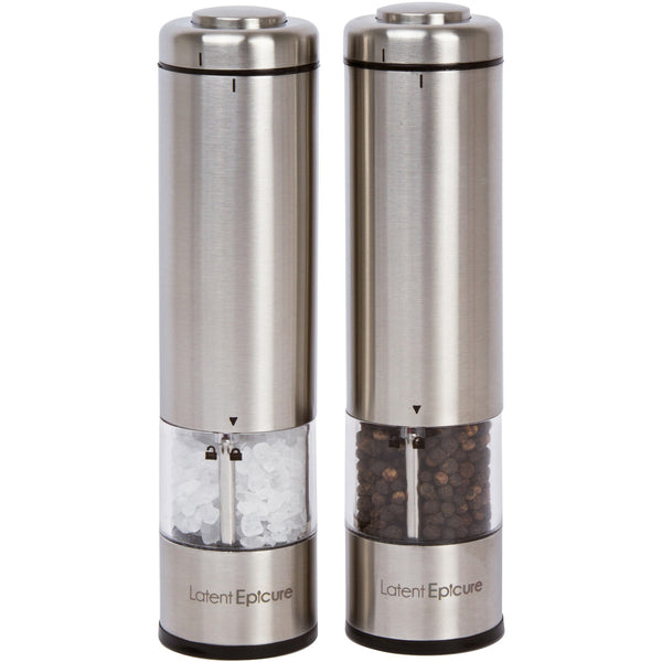 Battery Operated Salt and Pepper Mill Set