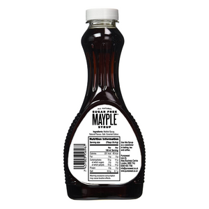 Mayple® Syrup by Puresweet 355ml, 100% Natural Sugar Free Maple Syrup Alternative, Great Taste, Gluten Free, Vegan.
