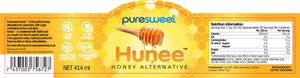 *NEW PRODUCT* Puresweet Hunee® Delicious Honey Alternative 414ml, Sugar Free, Made with Xylitol, Diabetic Friendly, Tooth Friendly, Non GMO, Vegan.