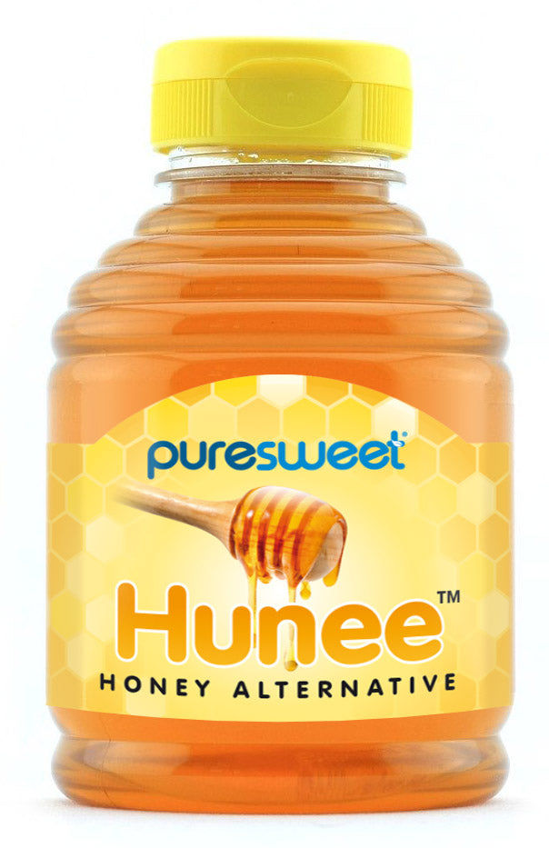 Puresweet Hunee® Delicious Honey Alternative 414ml, Sugar Free, Made with Xylitol, Diabetic Friendly, Tooth Friendly, Non GMO, Vegan.