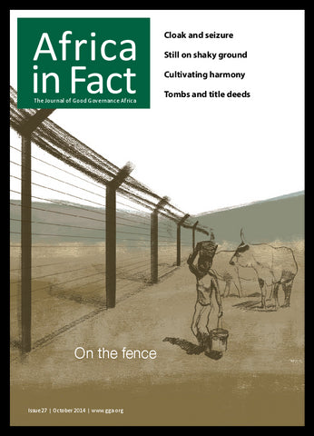 Africa in Fact Issue 27, October 2014: On the fence