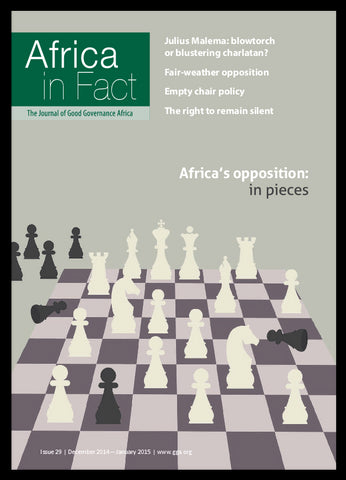 Africa in Fact Issue 29, December 2014 - January 2015: Africa's opposition in pieces