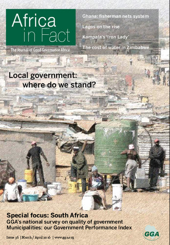 Africa in Fact Issue 36, March - April 2016: Local government: where do we stand?