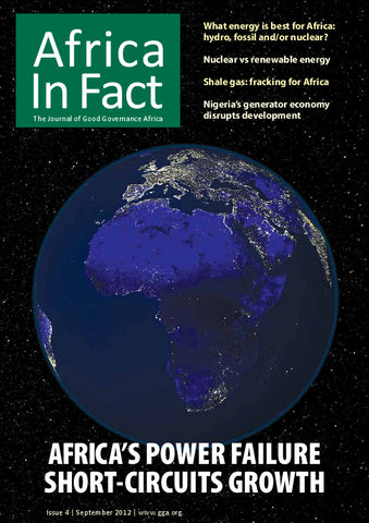 Africa in Fact Issue 04, September 2012: Energy