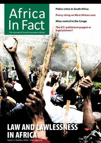 Africa in Fact Issue 05, October 2012: Law and Lawlessness