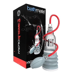 Bathmate HydroXtreme3 Penis Pump Clear Buy in Singapore LoveisLove U4ria