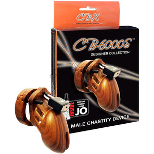 CB-X CB-6000S Wood Male Chastity Cock Cage Kit 2.5 Inch Buy in Singapore LoveisLove U4Ria